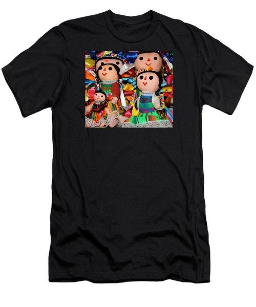 Mexican Dolls Men's T-Shirt (Athletic Fit)