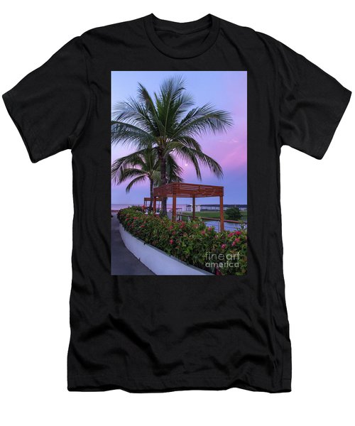 Mexican Moonrise Mexican Art By Kaylyn Franks Men's T-Shirt (Athletic Fit)
