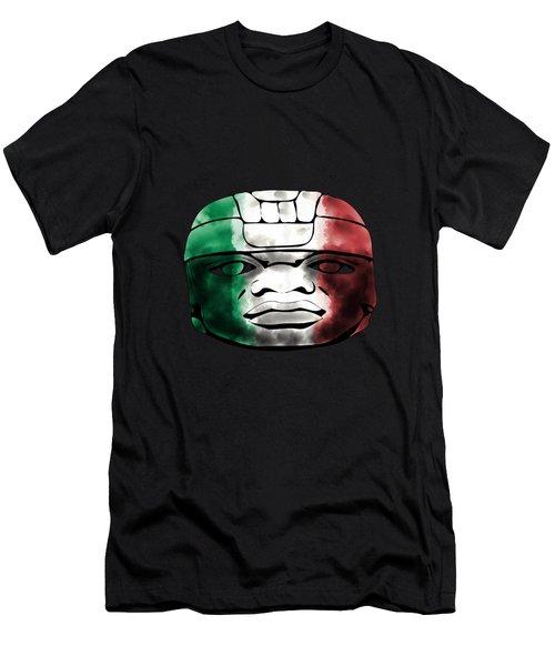 Mexican Olmec Men's T-Shirt (Athletic Fit)