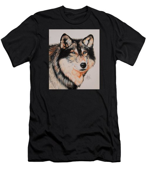 Mexican Wolf Hybrid Men's T-Shirt (Athletic Fit)