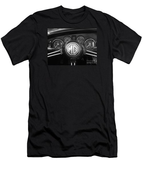Mg Midget Dashboard Men's T-Shirt (Athletic Fit)