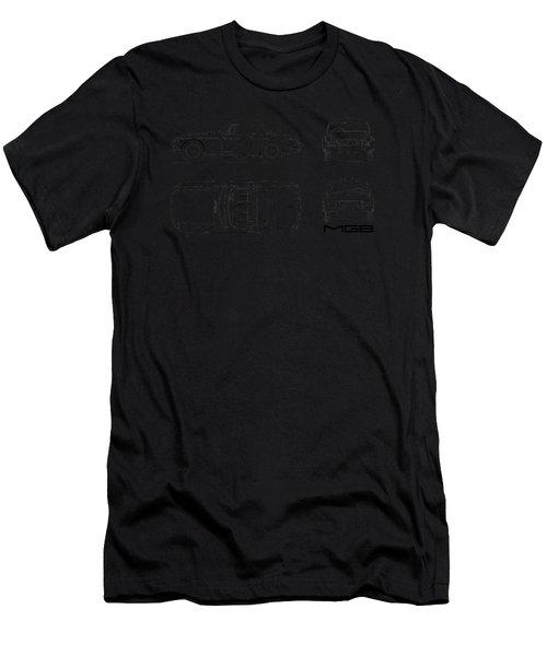 Mgb Blueprint Men's T-Shirt (Athletic Fit)