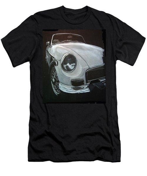 Men's T-Shirt (Athletic Fit) featuring the painting MGB by Richard Le Page