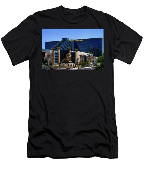 Mgm Grand Hotel Casino Men's T-Shirt (Athletic Fit)