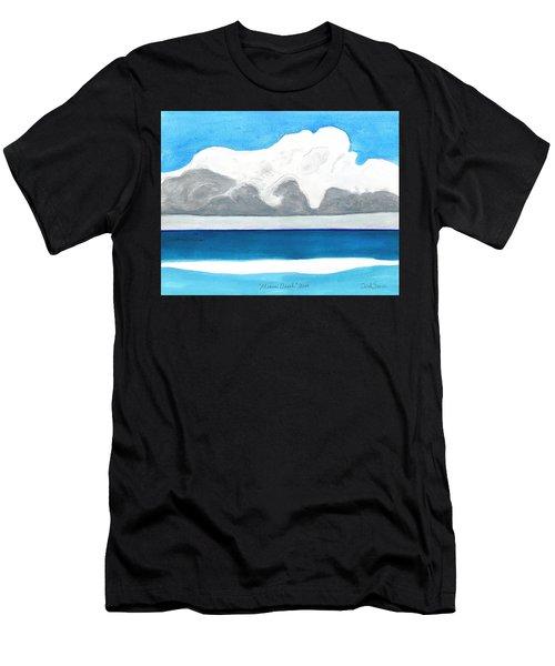 Miami Beach, Florida Men's T-Shirt (Athletic Fit)