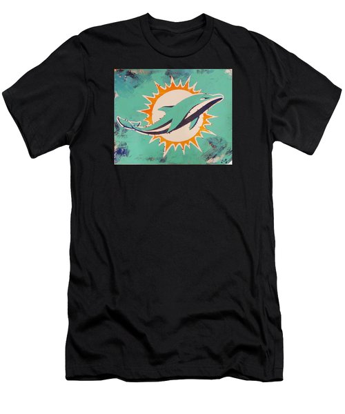 Miami Dolphins Men's T-Shirt (Athletic Fit)