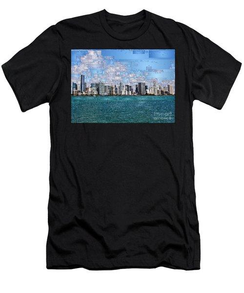 Miami, Florida Men's T-Shirt (Athletic Fit)