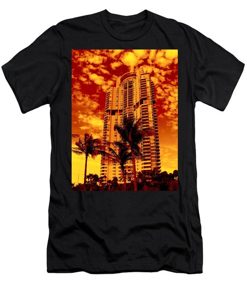 Miami South Pointe IIi Highrise Men's T-Shirt (Athletic Fit)