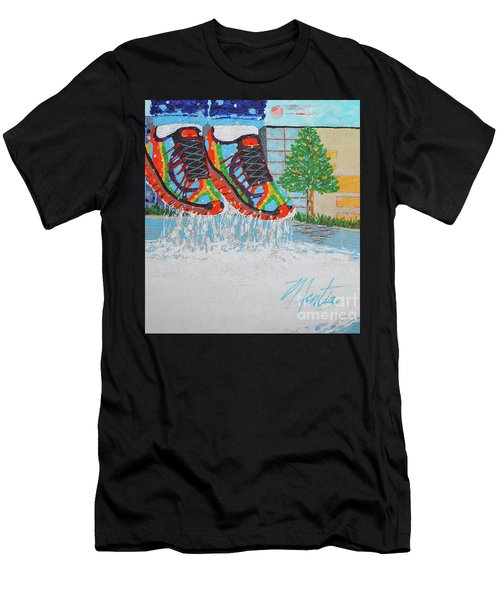 Mia's Water Sport Men's T-Shirt (Athletic Fit)