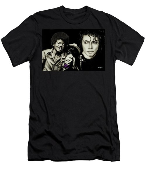 Michael Jackson - The Man In The Mirror Men's T-Shirt (Athletic Fit)