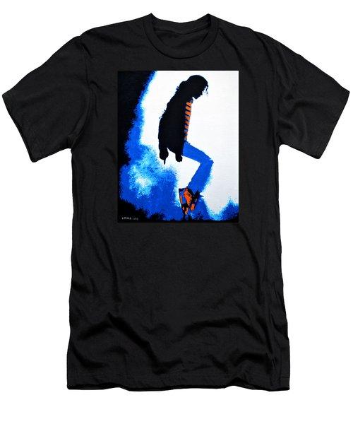Michael Jackson Men's T-Shirt (Slim Fit) by Victor Minca