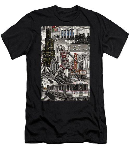 Michael Jordan  Men's T-Shirt (Athletic Fit)