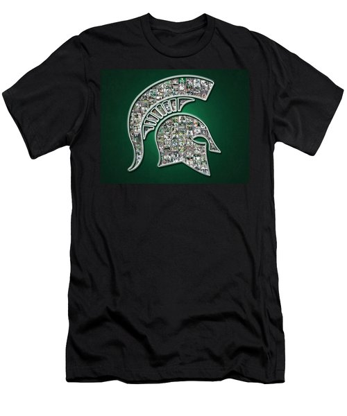 Michigan State Spartans Football Men's T-Shirt (Slim Fit)