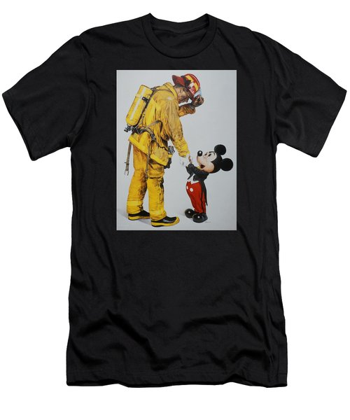 Mickey And The Bravest Men's T-Shirt (Athletic Fit)