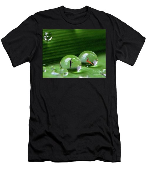 Microcosms Men's T-Shirt (Athletic Fit)