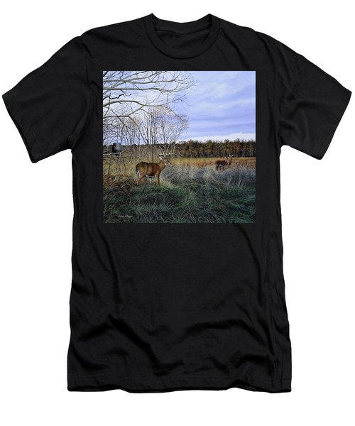 Take Out - Deer Men's T-Shirt (Athletic Fit)