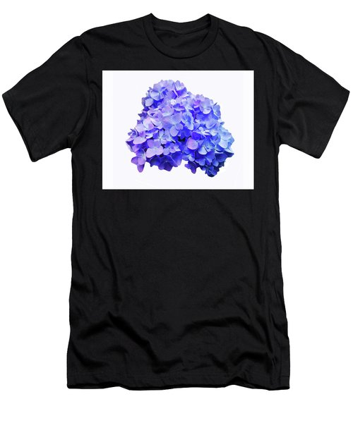 Men's T-Shirt (Athletic Fit) featuring the photograph Mid-summer Blue by Roger Bester