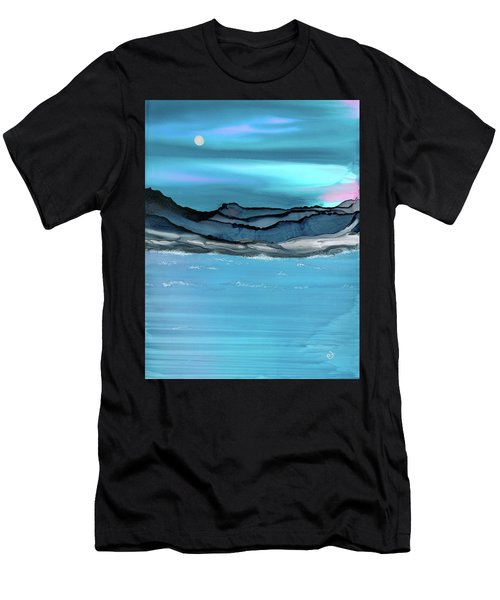 Midday Moon Men's T-Shirt (Athletic Fit)