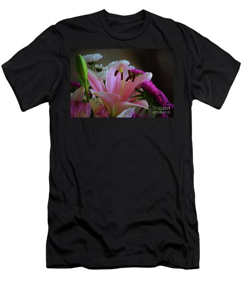 Middle Lily Men's T-Shirt (Athletic Fit)