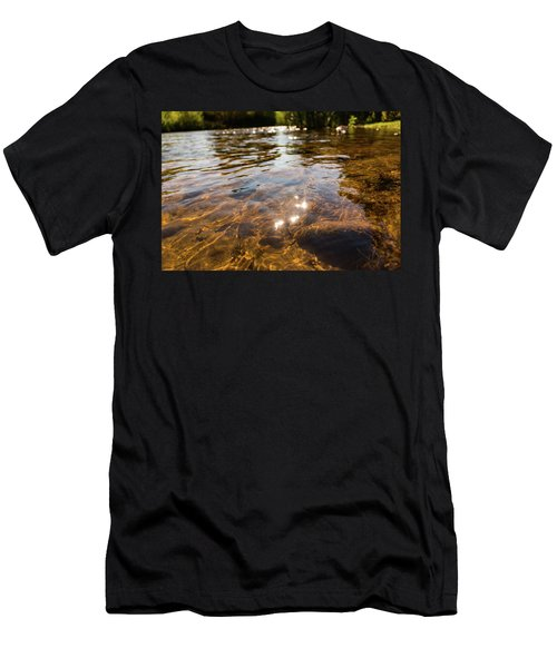 Middle Of The River Men's T-Shirt (Athletic Fit)