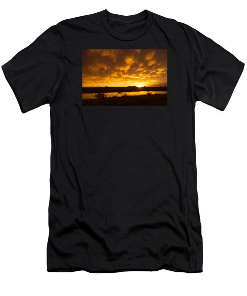 Midland Sunset Men's T-Shirt (Athletic Fit)