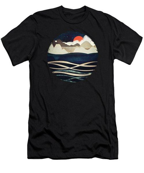 Midnight Beach Men's T-Shirt (Athletic Fit)