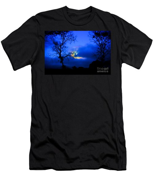 Midnight Clouds Men's T-Shirt (Athletic Fit)