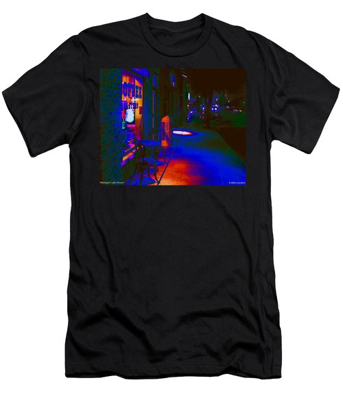 Midnight Coffee Dream Men's T-Shirt (Athletic Fit)