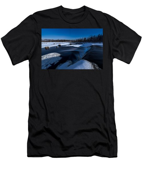 Midnight Falls Men's T-Shirt (Athletic Fit)
