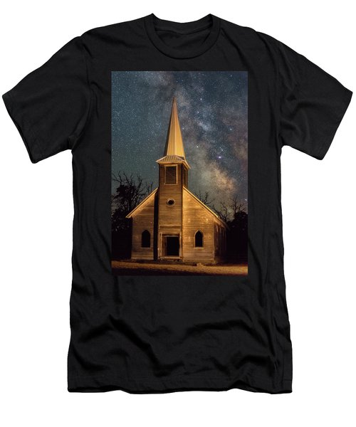 Men's T-Shirt (Athletic Fit) featuring the photograph Midnight Grove by Darren White
