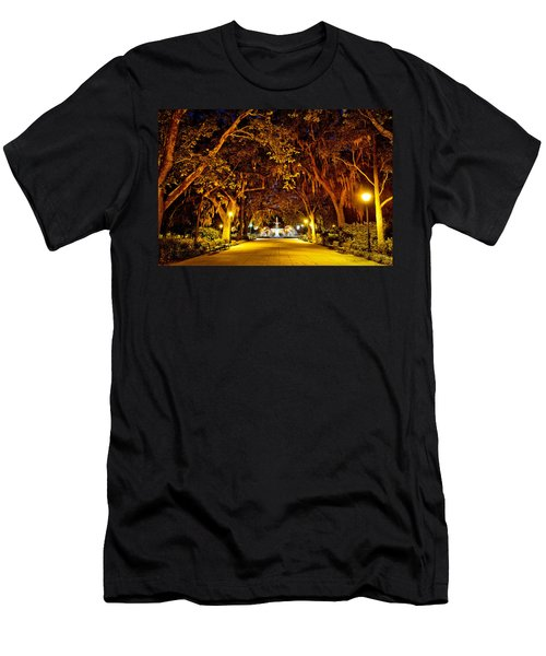 Midnight In The Garden Men's T-Shirt (Athletic Fit)