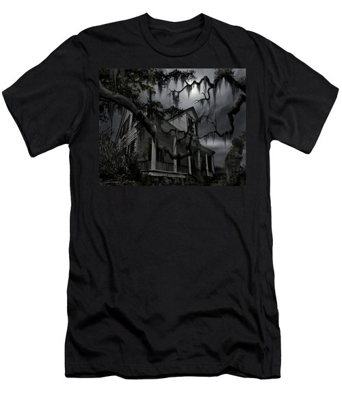 Midnight In The House Men's T-Shirt (Athletic Fit)