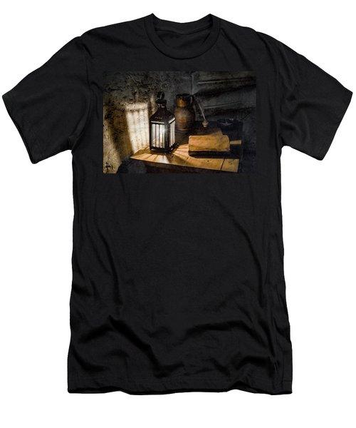 Paris, France - Midnight Oil Men's T-Shirt (Athletic Fit)