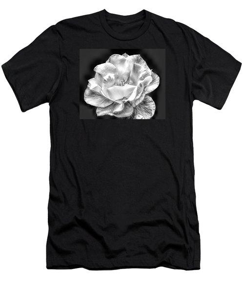 Midnight Rose Men's T-Shirt (Athletic Fit)