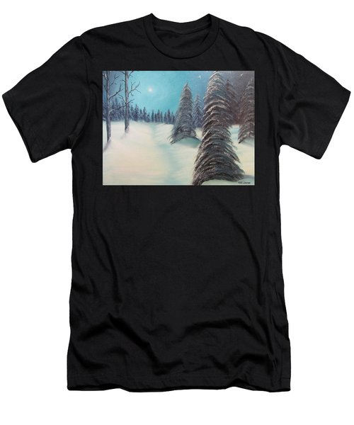 Midnight Silence Men's T-Shirt (Athletic Fit)