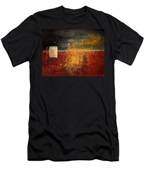 Midnight Summer, St Pete Beach  Men's T-Shirt (Slim Fit) by Theresa Marie Johnson