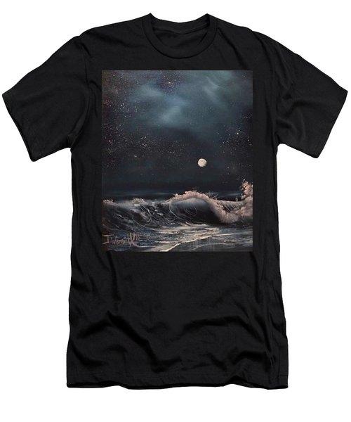 Midnight Surf  Men's T-Shirt (Athletic Fit)