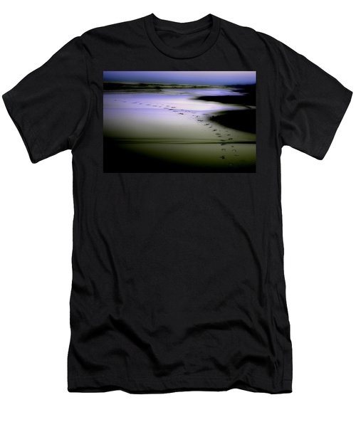 Men's T-Shirt (Slim Fit) featuring the photograph Midnight Swim by Gray  Artus