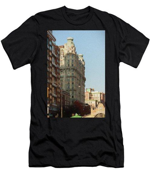 Midtown Manhattan Apartments Men's T-Shirt (Athletic Fit)
