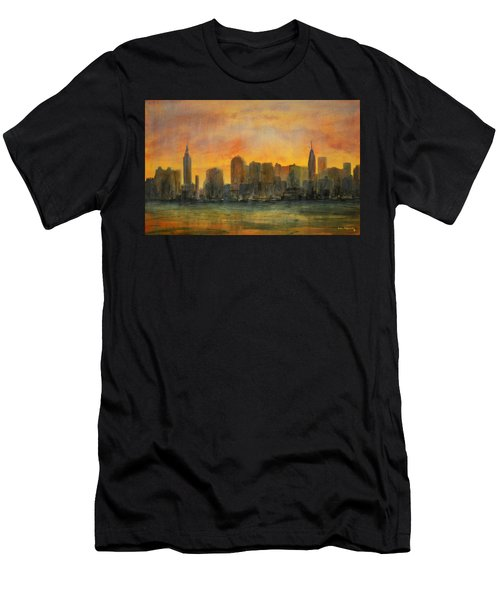 Midtown Morning Men's T-Shirt (Athletic Fit)