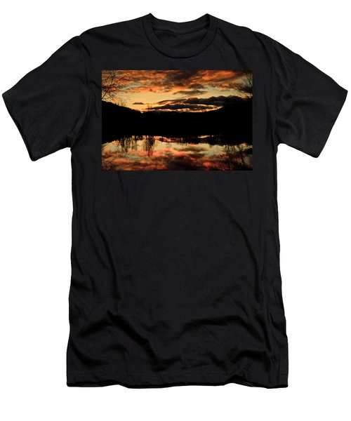 Midwinter Sunrise Men's T-Shirt (Athletic Fit)