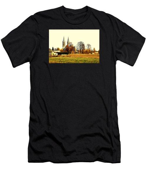 Miedzierza Church Men's T-Shirt (Athletic Fit)