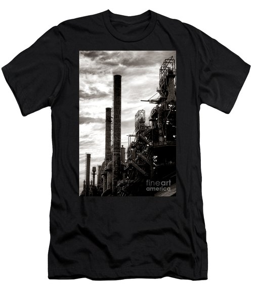 Mighty Bethlehem Steel Men's T-Shirt (Athletic Fit)