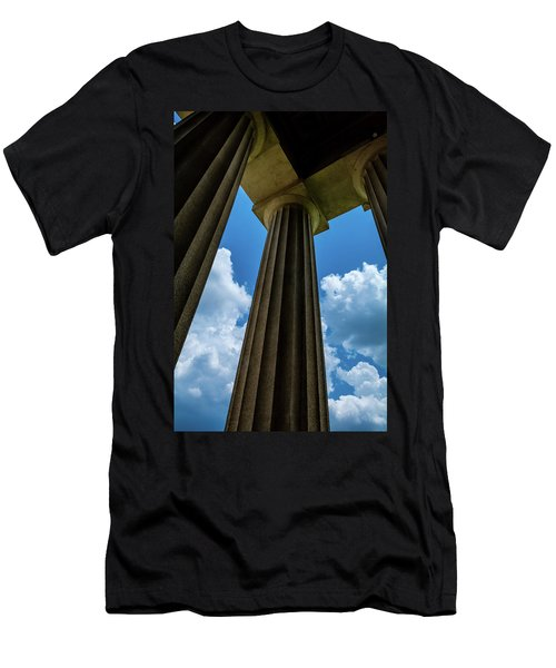 Mighty Columns  Men's T-Shirt (Athletic Fit)
