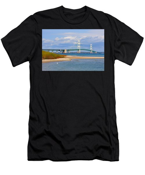 Mighty Mac In October Men's T-Shirt (Athletic Fit)