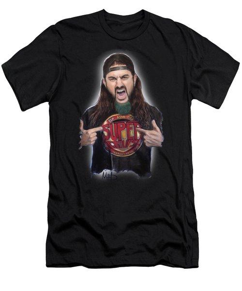 Mike Portnoy Men's T-Shirt (Slim Fit) by Melanie D