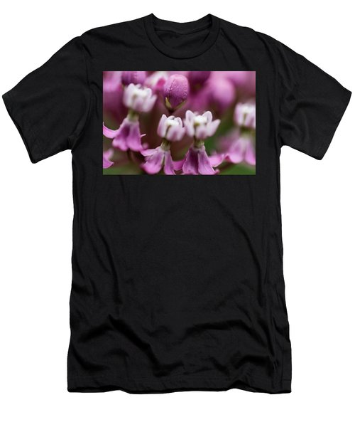 Milkweed Macro Men's T-Shirt (Athletic Fit)