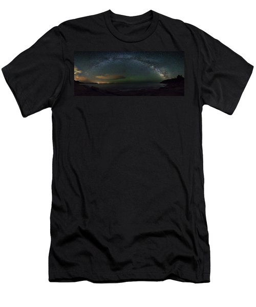 Milky Way Arch Men's T-Shirt (Athletic Fit)
