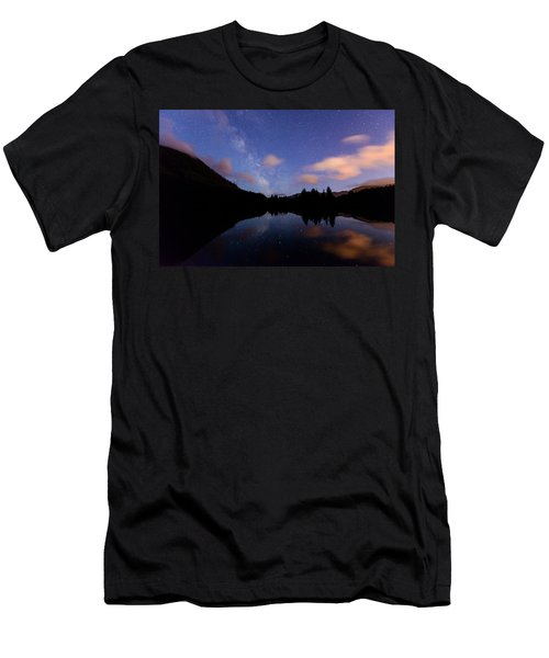 Milky Way At Snoqualmie Pass Men's T-Shirt (Athletic Fit)