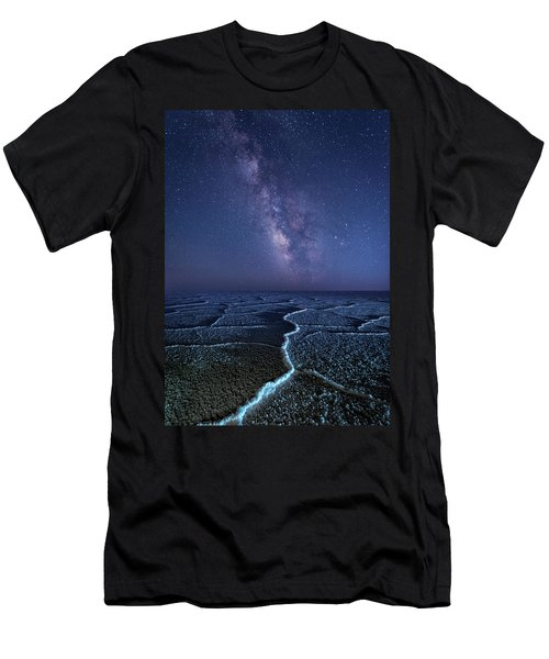 Milky Way At The Salt Flats Men's T-Shirt (Athletic Fit)